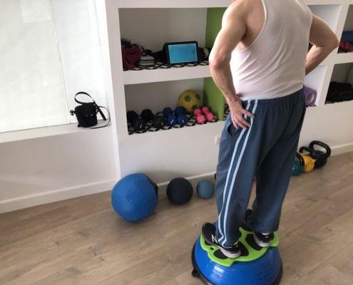 שיפור שיווי משקל